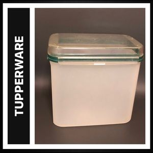 Tupperware Signature Line Rectangle / Hinged Seal